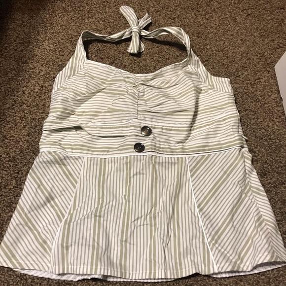 Matilda Jane striped tank top
